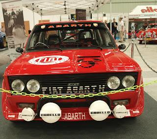 Fiat 131 Miriafiori Abatrh front