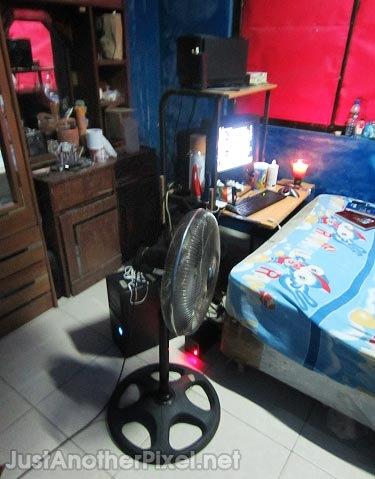 My room now