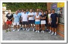 Club Tennis Natació de Sant Cugat de Barcelona, un curso de Capacitación en Pádel para el equipo de de monitores del club