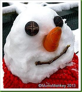 January 2013 snowman