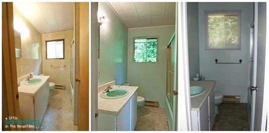 Cottage Bathroom Collage WM