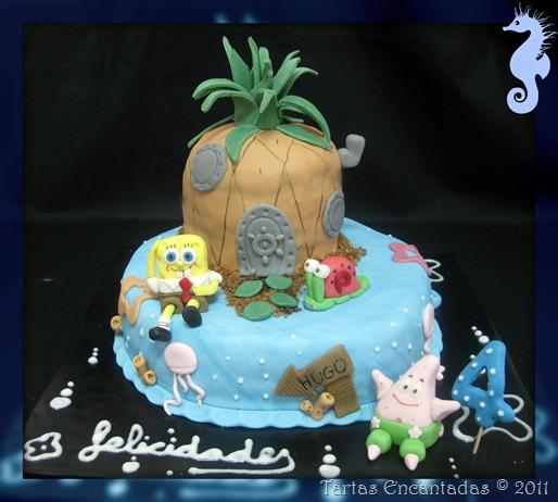 bob esponja cake