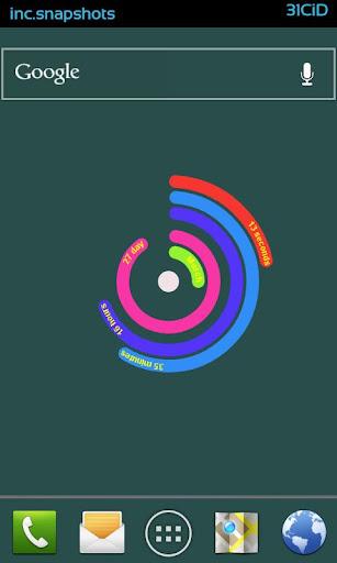 【免費個人化App】Live Wallpaper - PolarClock-APP點子