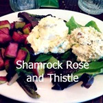 Shamrock Rose and Thistle