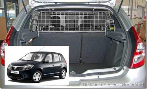 Honden-bagagerek Dacia Sandero Stepway