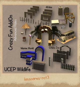 UCEP Wildlife Crazy Fun AddOn (Advanced Rides) lassoares-rct3