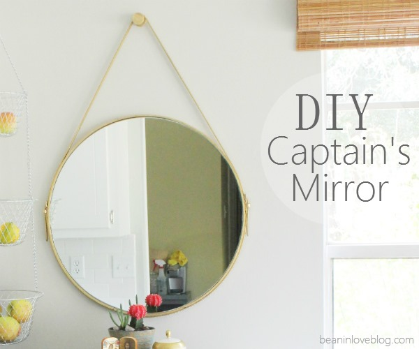 Captain's Mirror pin