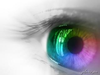 a beautiful eye