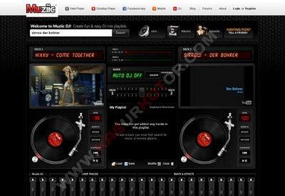 Muziic DJ Aplikasi Web untuk Mix Lagu YouTube