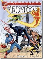 P00012 - Biblioteca Marvel - Avengers #12