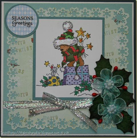 Christmas Bears-Presents