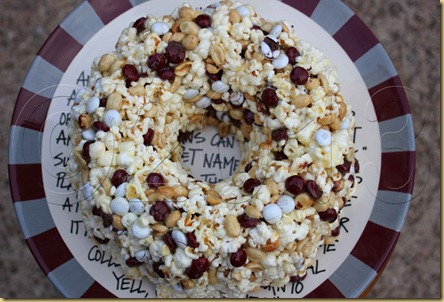 Aggie Popcorn Cake top copyright