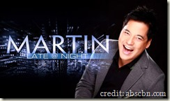 Martin Late at Night ABS-CBN