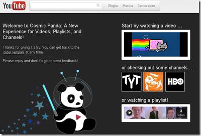 youtube grafica noua