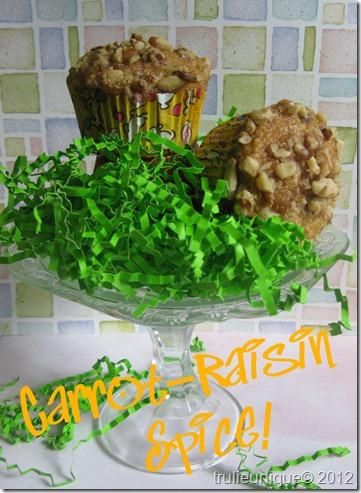 carrot raisin spice muffins, carrot cake muffins, sugar free muffins, sugar free desserts,