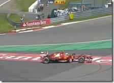 Massa nel gran premio di Germania 2013