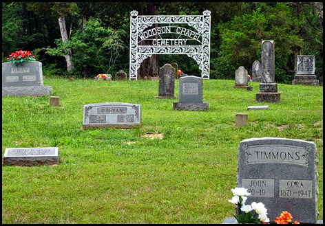 07b3 - Side Trip to Woodson Chapel Cemetery - 6 miles
