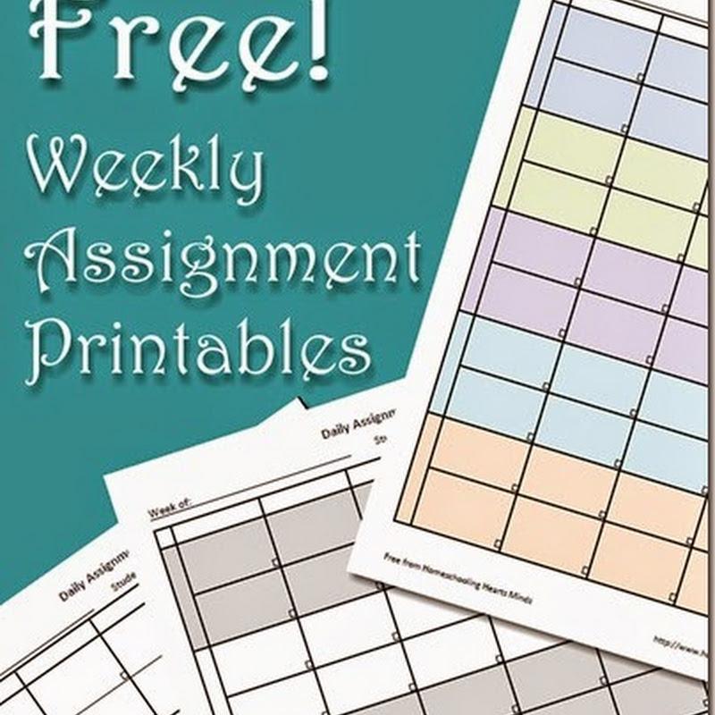 Homeschooling Hearts & Minds: Free Homeschool Resources & Printables