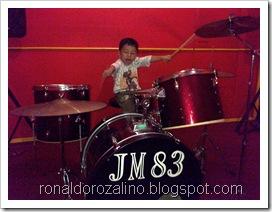 Violino Ridho Putra Kembali Berlatih Drum di JM 83 STUDIO (32)