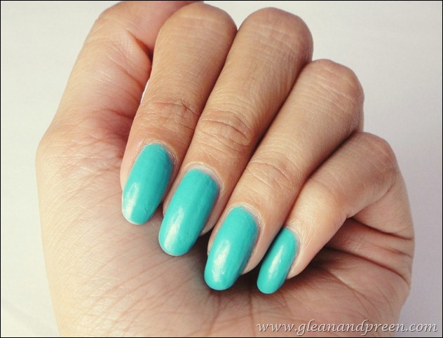 Maybelline Express Finish Turquoise Lagoon