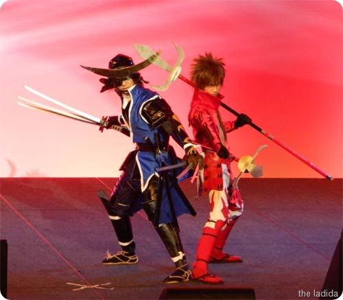 Yukimura and Masamune from Sengoku Basara