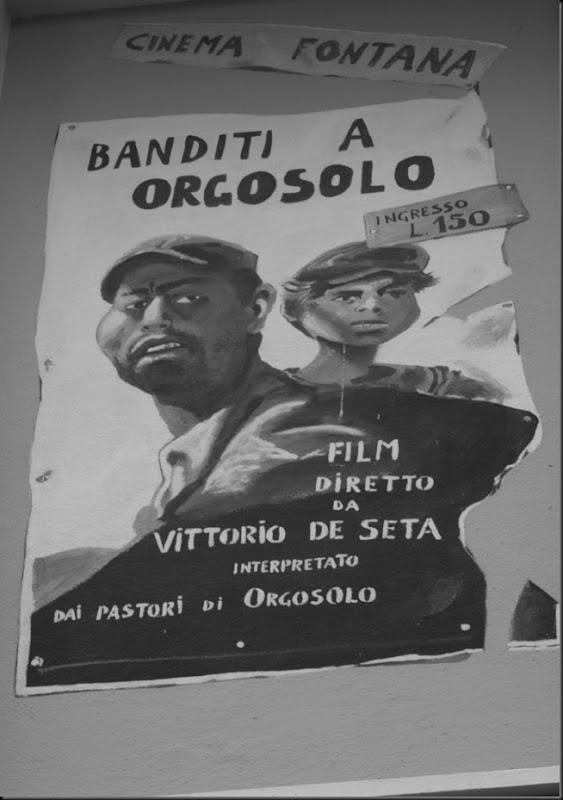 1969 in memoria del cinema e cinema d'essai Fontana, e film Banditi a Orgosolo di Vittorio de Seta , pubblicato nel 1954.