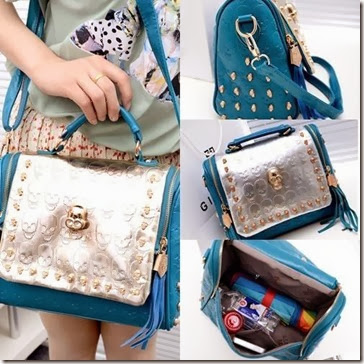 U8518 (210.000) MATERIAL PU L25XH21XW10.5CM WEIGHT 700GR COLOR BLUE,APRICOT,BLACK,RED