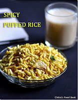 Kara pori/Spicy puffed rice recipe