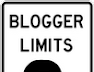 Complete list of Blogger account limits