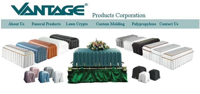 Site da Vantage Corporation