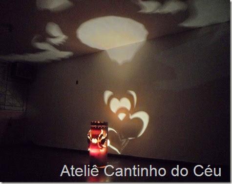 Luminaria PVC Atelie cantinho do ceu 6