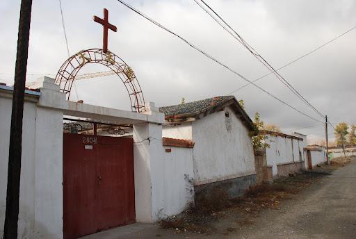 Xinjiang, Haba He - Quartier en démolition