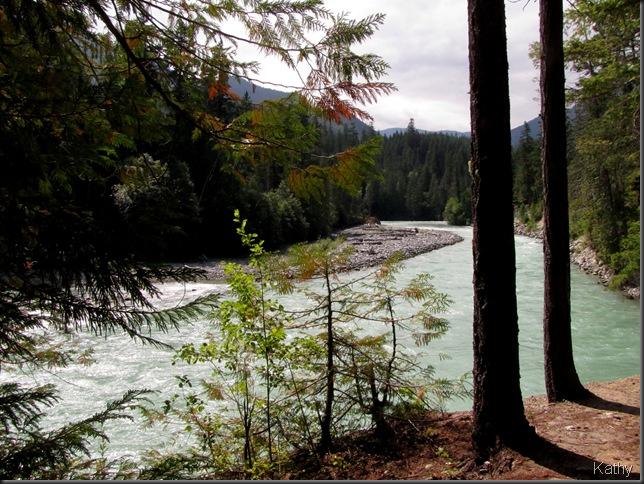 The River at Nairn Falls