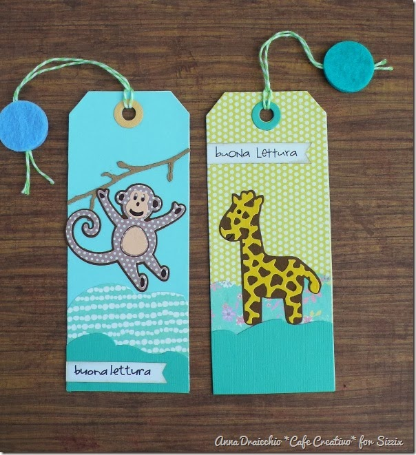 cafe creativo - Anna Draicchio - sizzix big shot - bookmark (4)