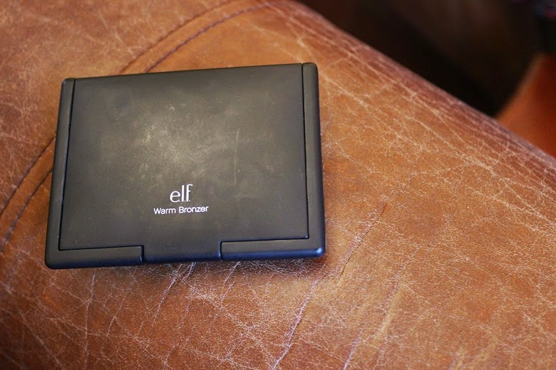 bronzing on a budget elf warm bronzer review