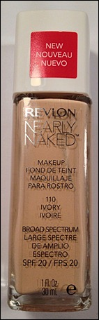 Revlon Nearly Naked Makeup