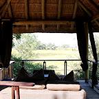 Xudum Lodge, offene Lounge © Foto: Ulrike Pârvu | Outback Africa Erlebnisreisen