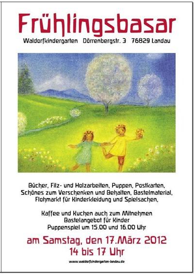 Frühlingsbasar Plakat 3