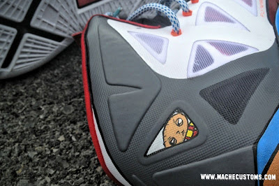 nike lebron 10 cs mache stewie 1 04 New Nike LeBron X Stewie Custom Designed by Mache