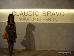 LivingMarjorney visited the Claudio Bravo's Sojourn in Manila Exhibit