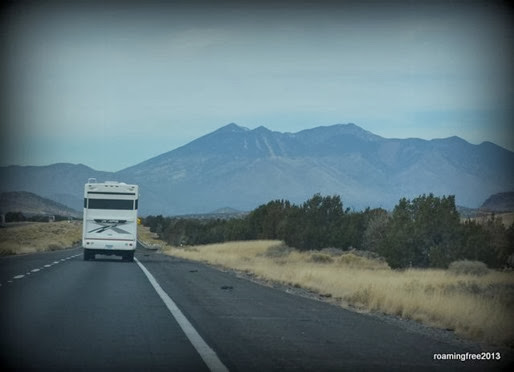 Getting close to the San Francisco Peaks