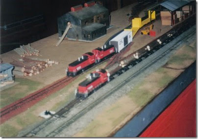 08 HO-Scale Layout at the Lewis County Mall in January 1999