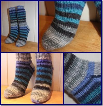 Raggi sokk montasje