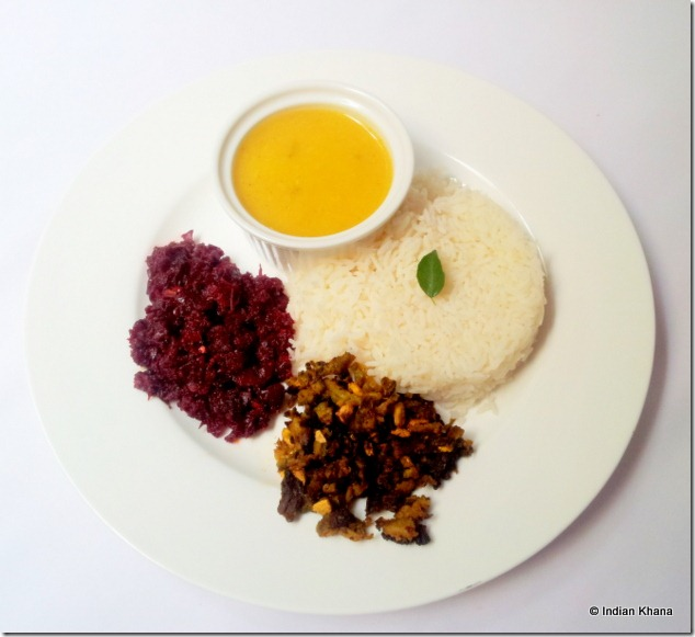 Easy meal beetroot curry recipe