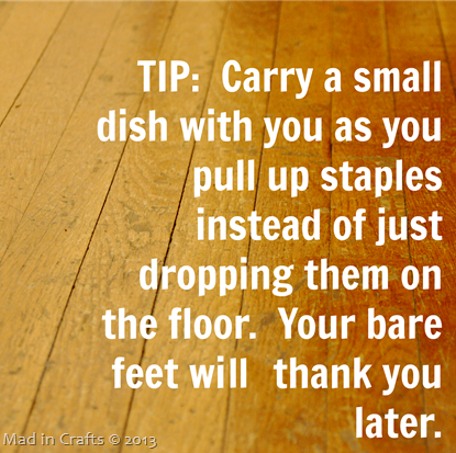 Staple Pulling Tip