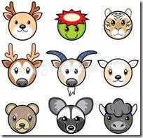 caras de animales para imprmir (7)