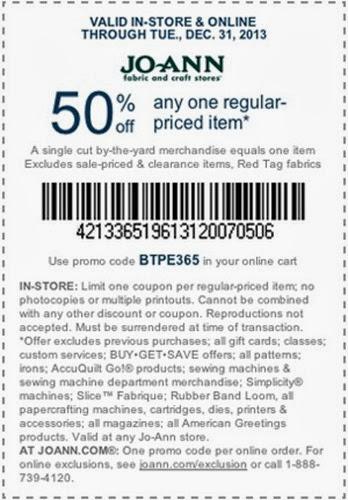 joann coupon