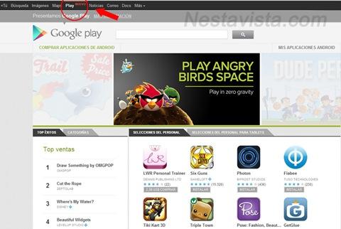 Google Play Marzo 2012