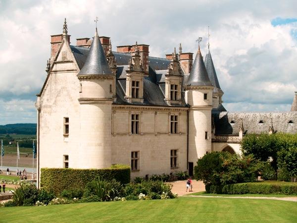 Le Château Royal d Amboise Il en reste que le 10ième de l original