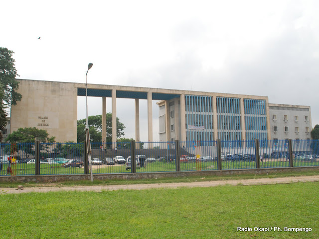 Une vue du palais de justice de Kinshasa, ce 7/12/2009. Radio Okapi / Ph. John Bompengo